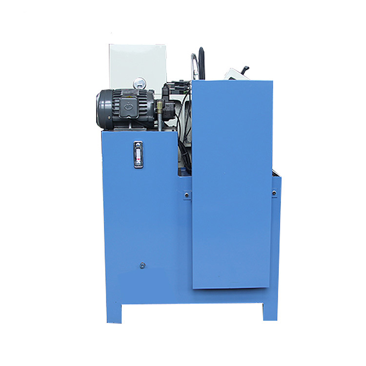 Triaxial hydraulic knurling processing steel copper aluminum pipe rolling machine exquisite manufacturer