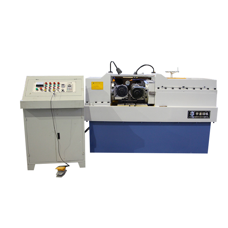Hydraulic two-axis automatic thread rolling machine