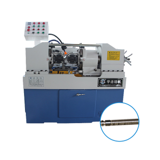 Hydraulic rebar two-axis thread rolling machine wall bolting machine universal thread rolling machine